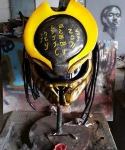 Cyborg Predator Motorcycle Helmet