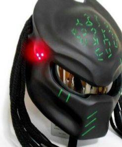 Black Color Predator Motorcycle Helmet