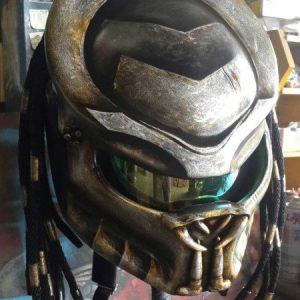 Predator Motorcycle Helmet Imperial Mask