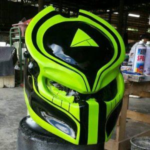 Raptor Predator Motorcycle Helmet