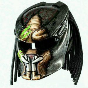 Alien Predator Motorcycle Helmets