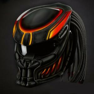 Predator Helmet Street Fighter