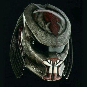 Alien Predator Helmet Motorcycle