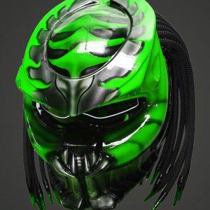 predator alien biker helmets